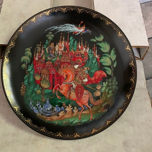 Russian Legend Collector Plate